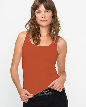 Tight-fitting Flirty Tank