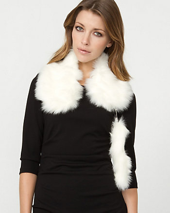 Faux Fur Small Scarf
