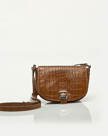 Croc Messenger Bag
