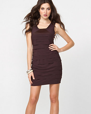 Tiered Mini Dress