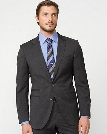 Wool Multi-Stripe Blazer