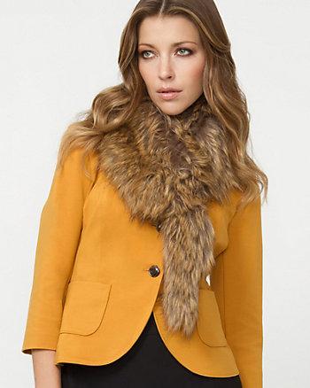 Small Faux Fur Scarf