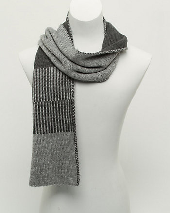 Acrylic Colour Block Scarf