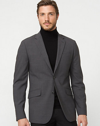 Wool Blend Contemporary Fit Blazer