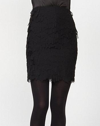 Chiffon Ruffle Skirt