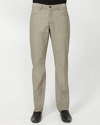 Ottoman Cotton Slim Leg Pant