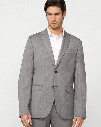 End-on-End Notch Lapel Blazer