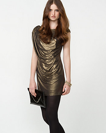 Foil Cocktail Dress