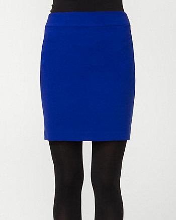 Double Weave Mini Skirt