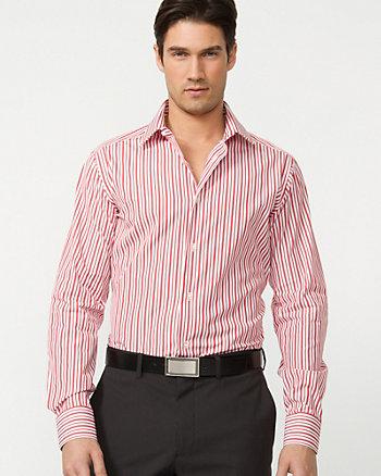 Stripe Cotton Dress Shirt