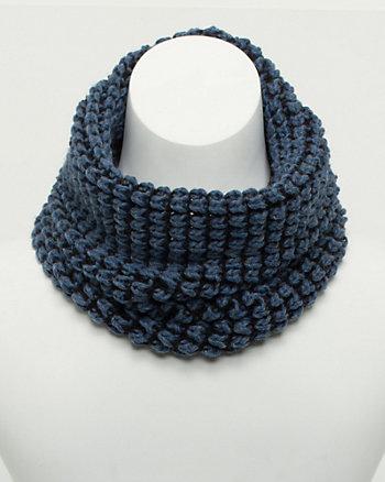 Italian Made Chunky Knit Infinity Scarf