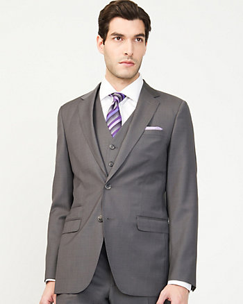 Wool Crossdye Tailored Blazer