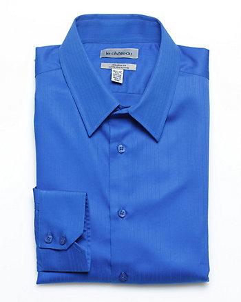 Poplin Tonal Stripe Dress Shirt