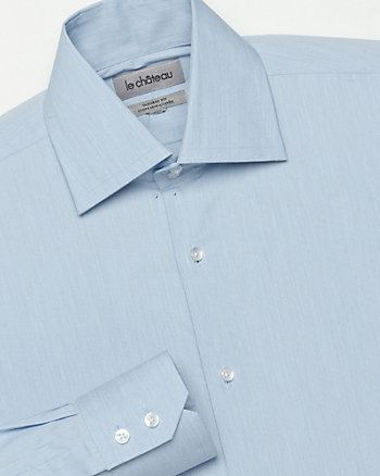 End-on-End Tailored Fit Dress Shirt