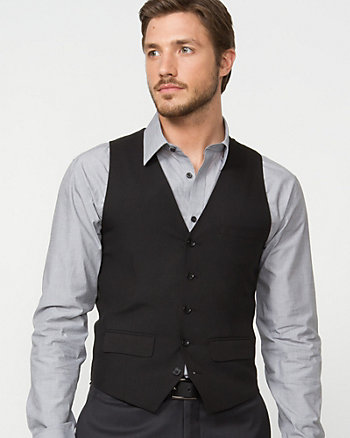 Stretch Contemporary Fit Vest