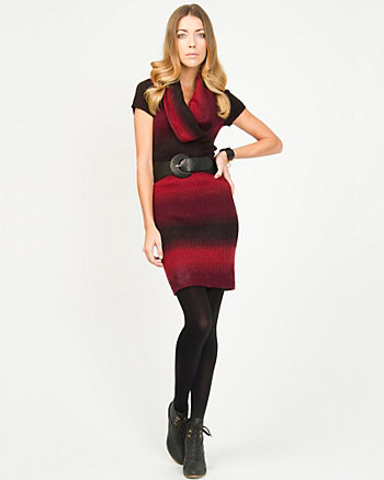 Ombré Sweater Dress