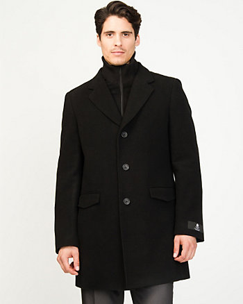 Velour Topcoat