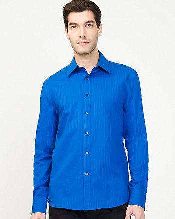 Stripe Cotton Pattern Shirt