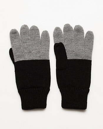 Rib Knit Gloves