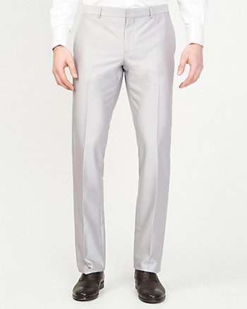 Shiny Herringbone Pant
