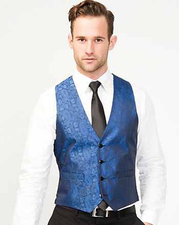 Jacquard City Fit Vest
