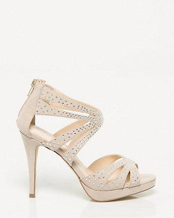 Strappy Jewel Platform Sandal