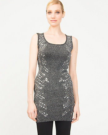 Metallic Beaded Tunic
