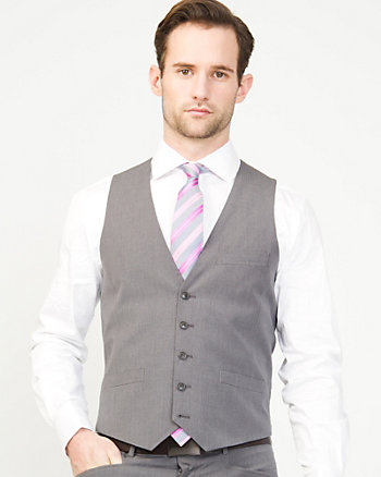 Micro Stripe City Fit Vest