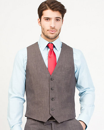 Linen City Fit Vest