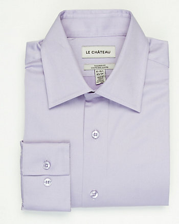 Stretch Cotton Two Tone Shirt
