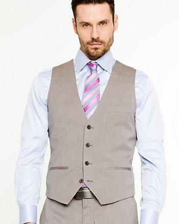 Stripe Wool Blend Vest