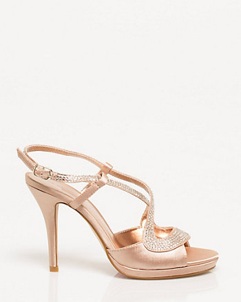 Jewel Embellished Strappy Sandal