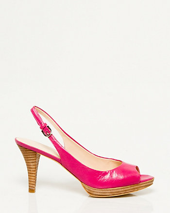 Patent Leather Slingback