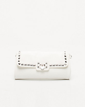 Studded Foldover Clutch