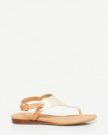 Leather Sandal