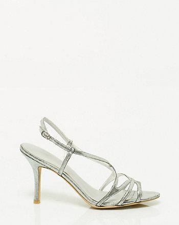 Suedine Strappy Sandal