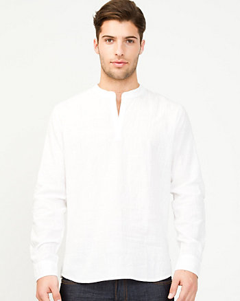 Cotton Voile Slim Fit Shirt