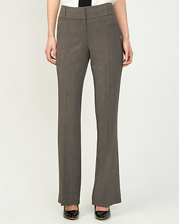 Slightly Flared Tweed Pant