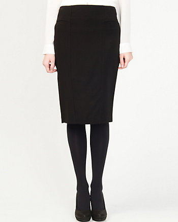 Double Weave Pencil Skirt