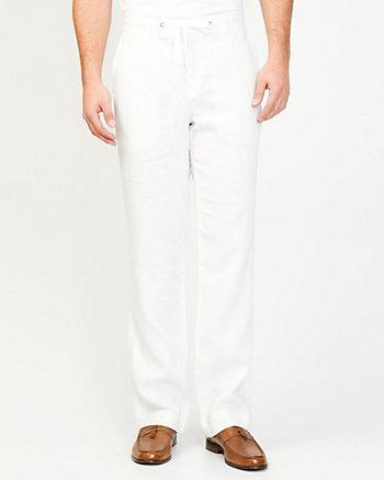 Linen Straight Leg Pant