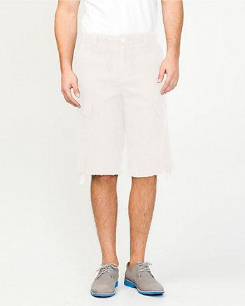 Linen Cargo Short