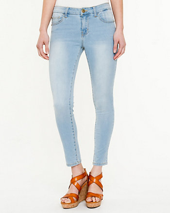 Light Wash Skinny Stretch Jeans