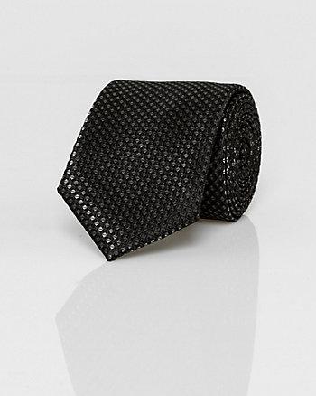 Novelty Print Woven Skinny Tie
