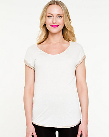 Knit Scoop Neck Top