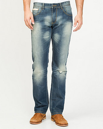 Denim Slim Leg Pant