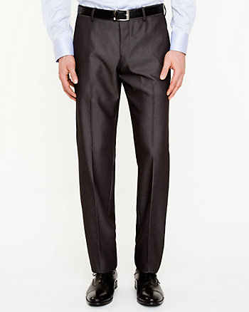 Sharkskin Straight Leg Pant