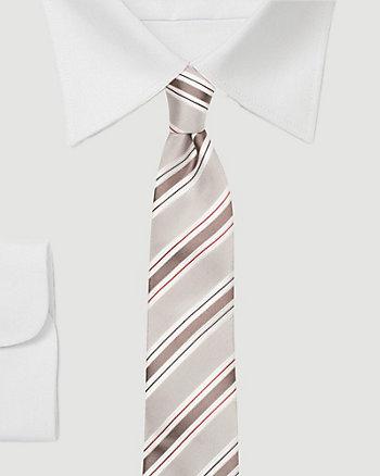 Silk Skinny Stripe Tie