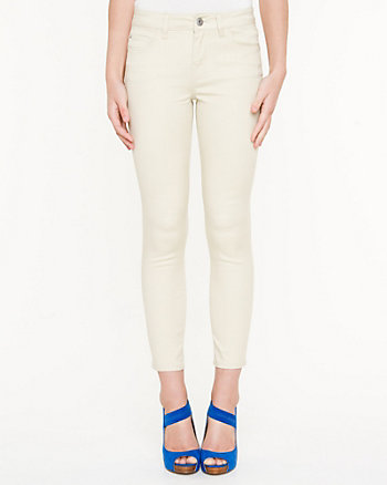 Cotton Twill Crop Pant