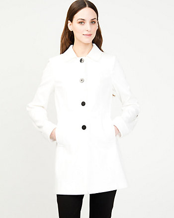 Spread Collar Pea Jacket