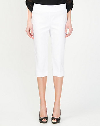 Tech Stretch Slim Leg Crop Pant